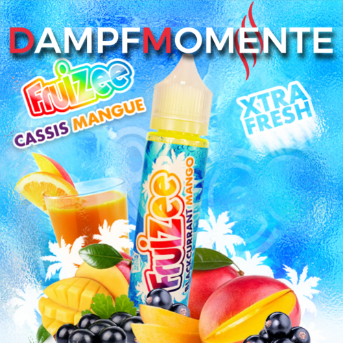 Eliquid France - Fruizee - Blackcurrant Mango