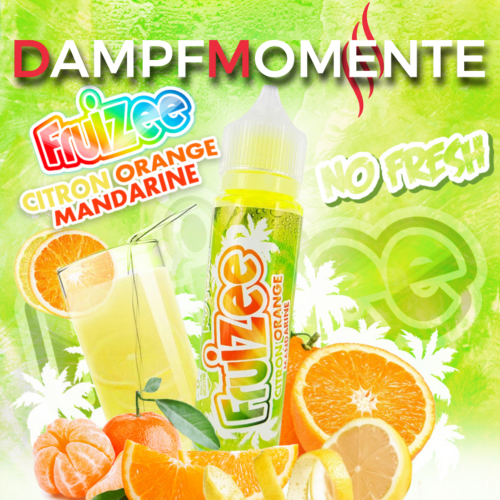 Eliquid France - Fruizee - Lemon Orange Mandarin NO FRESH