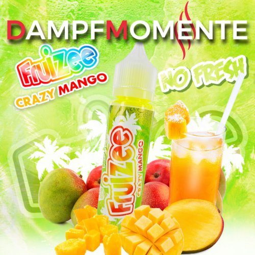 Eliquid France - Fruizee - Crazy Mango NO FRESH