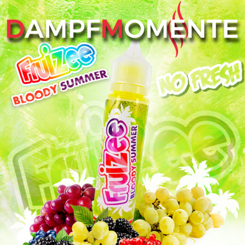 Eliquid France - Fruizee - Bloody Summer NO FRESH